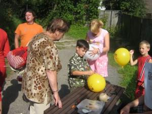 Malování na balónky